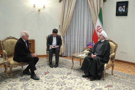 رئیس جمهور: ایران همچنان آماده تعامل و همکاری با اتحادیه اروپا است