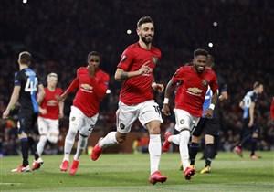 صعود منچستریونایتد و اینتر به دور بعد لیگ اروپا