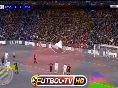 گل دوم منچسترسیتی به رئال مادرید توسط کوین دیبروین / ویدیو