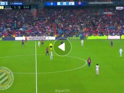 گل دوم رئال مادرید به بارسلونا توسط ماریانو دیاز