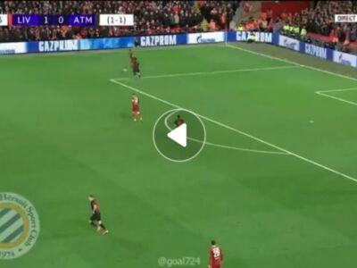 گل دوم لیورپول به اتلتیکو مادرید توسط فیرمینو