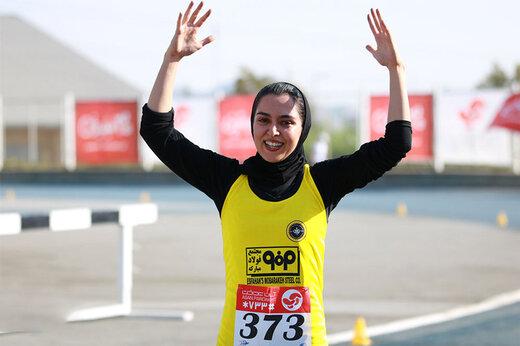 تمرینات اختصاصی سریع ترین دختر ایران