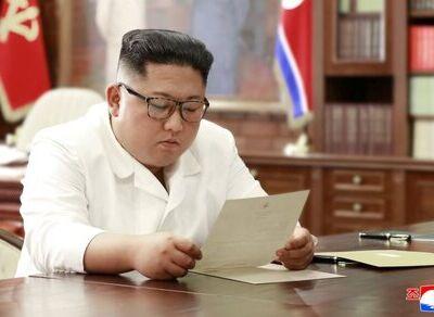 رهبر کره شمالی برای مردم نامه نوشت!