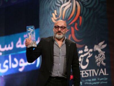 گریم عجیب امیر آقایی در فیلمی که هرگز ساخته نشد عکس