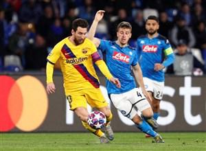 یوفا بارسلونا و ناپولی را جریمه کرد