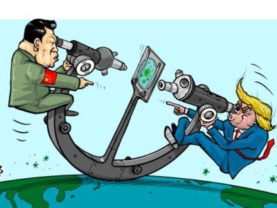 چین و آمریکا منشا کرونا را پیدا کردند (عکس)