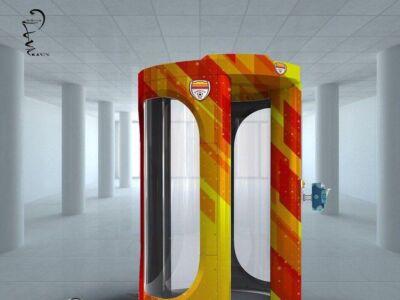 تونل اختصاصی فولاد برای ضدعفونی کردن