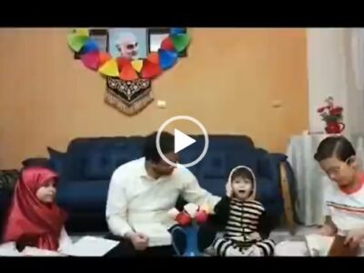 همخوانی دیدنی فرزندان سید بشیر حسینی داور عصر جدید / ویدیو
