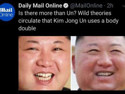 بدل کیم جونگ اون؟ / شایعه بدل بودن رهبر کره شمالی