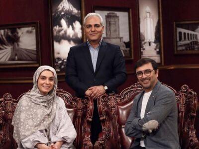 امین زندگانی و الیکا عبدالرزاقی مهمان امشب برنامه دورهمی / 22 خرداد 99
