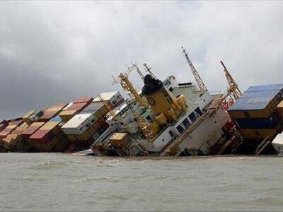 کشتی تجاری ایران در آب های عراق غرق شد