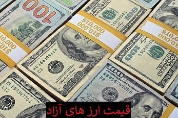 قیمت ارز و دلار 8 خرداد 1400